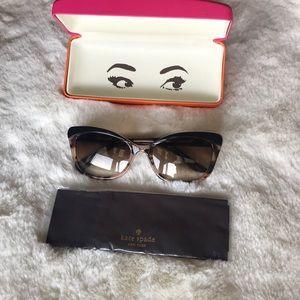 Kate Spade New York Amara Cat-Eye Sunglasses